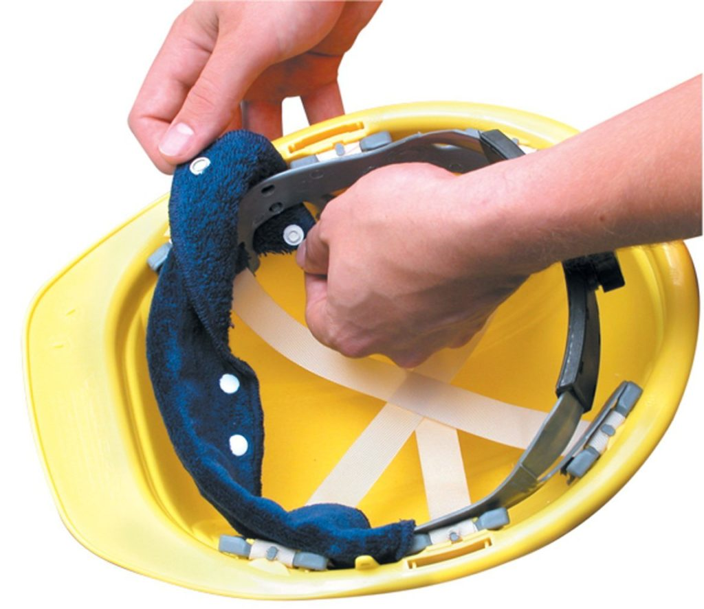 Occunomix Snap-On Hard Hat Sweatband