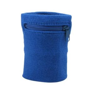 Suddora zipper wristband blue