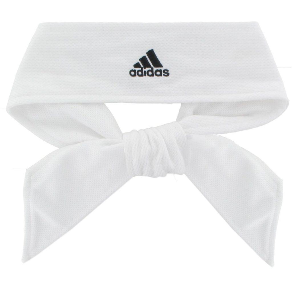 Adidas tennis tie white