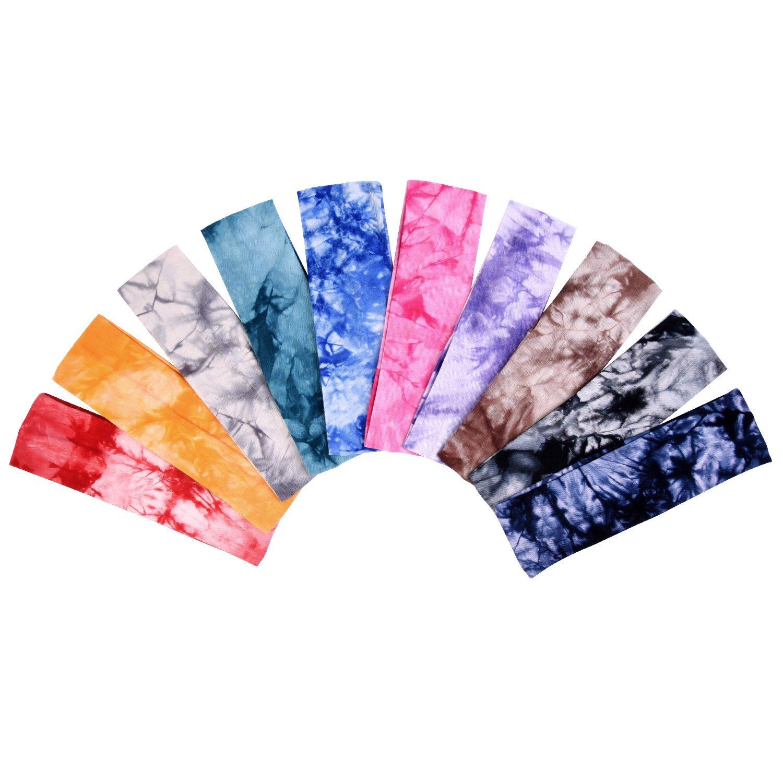 eBoot Tie Dye Headbands Cotton Stretch Headbands Review